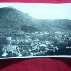 Ilustrata Brasov -Vedere cenzurata 1942 - Carte Postala Transilvania dupa 1918, Circulata, Fotografie