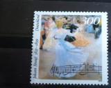 GERMANIA 1999 – MUZICA DE VALS DE JOHANN STRAUS, timbru nestampilat, B30