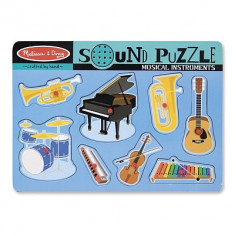 Puzzle Melissa & Doug Sonor Instrumente Muzicale Melissa And Doug