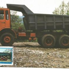 No(2)ilustrata maxima-AUTOVEHICULE ROMANESTI-RABA-prima zi, Romania de la 1950, An: 1978, Transporturi