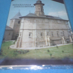 MAPA DIAPOZITIVE MANASTIREA DRAGOMIRNA DIACOLOR 1969