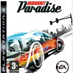 Burnout Paradise Ps3 - Jocuri PS3 Electronic Arts, Curse auto-moto, 3+