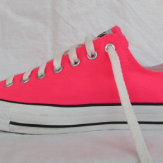 Tenisi Converse All Star originali de panza, marimea 44 EUR (28.5 cm) - Tenisi barbati, Culoare: Roz