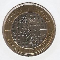 Marea Britanie 2 Pounds 2007 - Act of Union, K70, KM-1076, Europa
