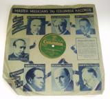 Disc vinil/ vinyl patefon/ gramofon VERLORENES GLUCK - Walzerlied - COLUMBIA