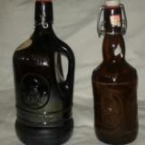 Sticla de bere veche de colectie set doua