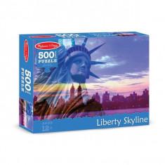 Puzzle Melissa & Doug 500 Piese Statuia Libertatii