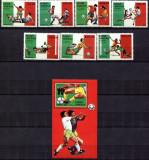 GUINEA BISSAU 1989 FOTBAL CUPA MONDIALA COTA MICHEL 20.5 EURO