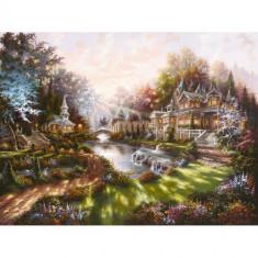 Puzzle Ravensburger Revarsatul Zorilor, 1000 Piese