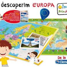 Joc Educativ - Sa Descoperim Europa - Jocuri Logica si inteligenta Clementoni