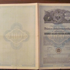 CY - Titlu de proprietate / Actiuni / Imprumut Austria 1889, Europa