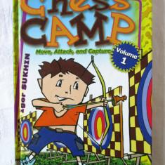 """CHESS CAMP. Move, Attack and Capture"", Vol. 1, Igor Sukhin, 2010. Sah pt. copii, Alta editura"