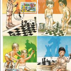 No(2)ilustrata maxima-Lot-CAMPIONATUL MONDIAL DE SAH 1992, Romania de la 1950, Oameni