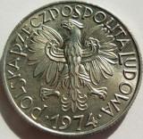 Moneda 5 ZLOTI - POLONIA, anul 1974 *cod 2403 Allu - A.UNC