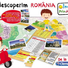 Joc Educativ - Sa Descoperim Romania Clementoni