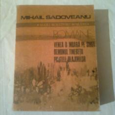 MIHAIL SADOVEANU  ~ ROMANE
