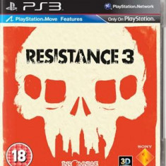 Resistance 3 Ps3 - Jocuri PS3 Sony, Shooting, 18+