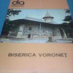 MAPA DIAPOZITIVE BISERICA VORONET DIACOLOR 1969