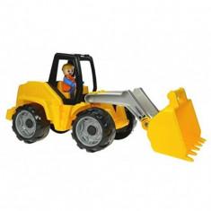 Excavator Din Plastic Cu Figurina 37 Cm - Vehicul