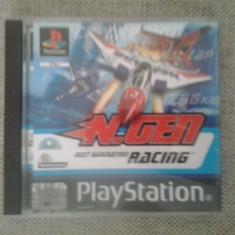 N. GEN - Next Generation Racing - Joc PS1 ( GameLand ), Actiune, 3+, Multiplayer