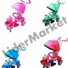 Carucior pentru copii in forma de motocicleta - Carucior copii Sport