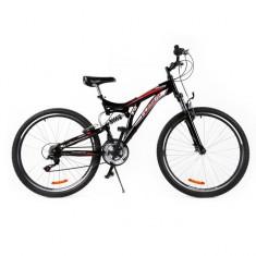 Bicicleta MTB Passati Blog 27.5 negru fullsuspension - Mountain Bike, Otel
