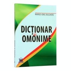 Dictionar de omonime - DEX