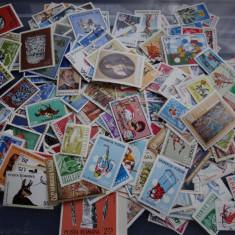 Timbre - Lot 325 de timbre diferite Romania stampilata