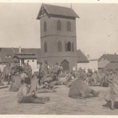 SIBIU, MILITARA, SOLDATI, 18 AUG. 1944 - Carte Postala Transilvania dupa 1918, Circulata, Fotografie