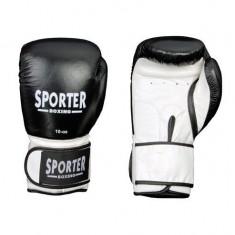 Manusi pentru competitii-Sporter (GS-914R/W, GS-914Black/W) - Manusi box
