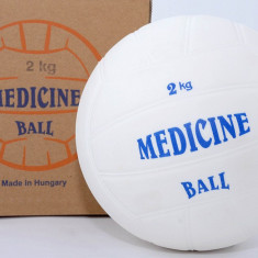 Minge medicinala din cauciuc 2 kg - Umpluta cu Lichid - Admitere Academie - Noua - Minge Fitness