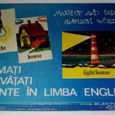Joc vechi - Formati si invatati cuvinte in limba engleza! - anii '80 - '90 - Joc colectie
