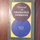 Exercitii de gramatica germana - Basilius Abager (1969)