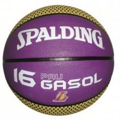 Minge de baschet Spalding Pau Gasol nr. 7 - Minge baschet