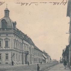 SIBIU, EDIFICIUL COMITATULUI, CIRCULATA AUG.''902 - Carte Postala Transilvania pana la 1904, Printata