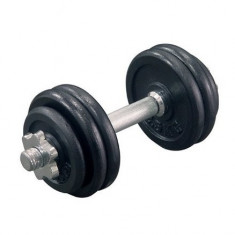 Gantera neagra 15kg (DBS-15) Sporter