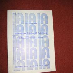 Elemente de inteligenta artificiala - Adina Magda Florea - Vol.1 - Carte Informatica