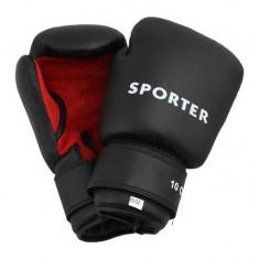 Manusi pentru antrenament-Sporter (GS-925L-Red/B GS-925L-Black/R) - Manusi box