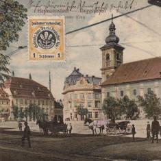SIBIU, KAISSER RING, CIRCULATA NOV.''913 - Carte Postala Transilvania 1904-1918, Printata
