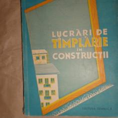 Lucrari de tamplarie in constructii an 1960/298pag/193figuri- A.Ardanski