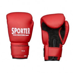 Manusi pentru antrenament-Sporter (GS-925Black/R GS-925R/Black) - Manusi box