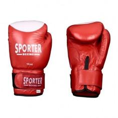 Manusi pentru competitii-Sporter (GS-910R/W) - Manusi box