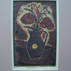 Nicolae Brana, Vas cu maci - Pictor roman