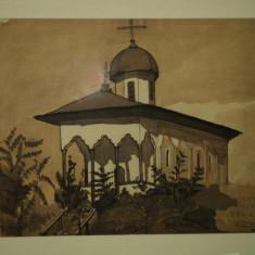 Rezeda Moga Dumitrescu, Biserica Bucur - Pictor roman