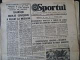 Ziarul Sportul (2 noiembrie 1977), U Craiova inaintea meciului cu Dinamo Moscova