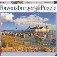 Puzzle Sezlonguri Pe Plaja, 500 Piese