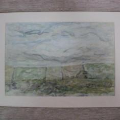Paul Gherasim, Peisaj cu dealuri - Pictor roman