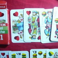 Pachet de carti de joc -Piatnik-Doppel Deutsche nr 1- Germania - 36 buc-complet - Carti poker