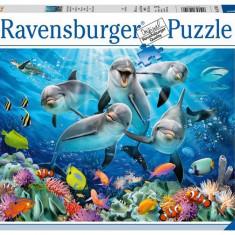 Puzzle Ravensburger Delfini, 500 Piese
