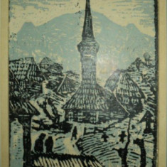 Nicolae Brana, Biserica din Maramures - Pictor roman